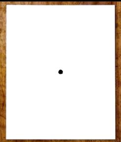 page blanche ou point noir